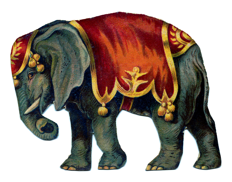 elephant+vintage+GraphicsFairy006b